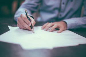 筆記による学習